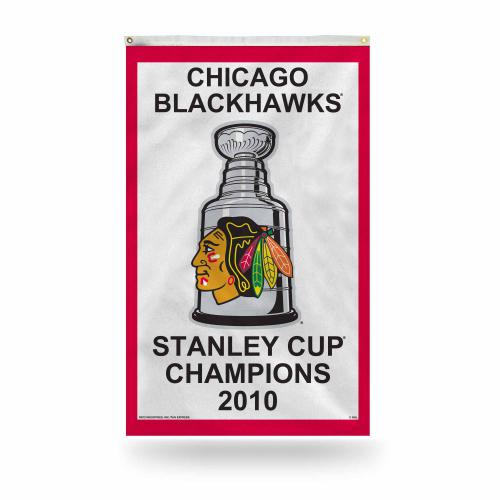 Chicago Blackhawks Stanley Cup Champions Flag
