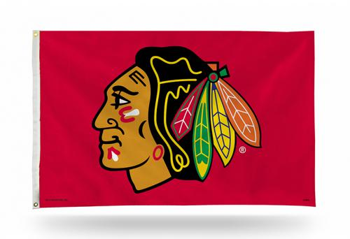 Chicago Blackhawks Official Licensed Flag