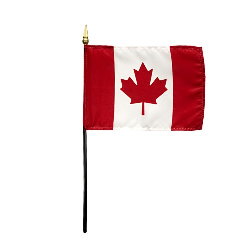 Canada Miniature Desk Flag, 4 X 6