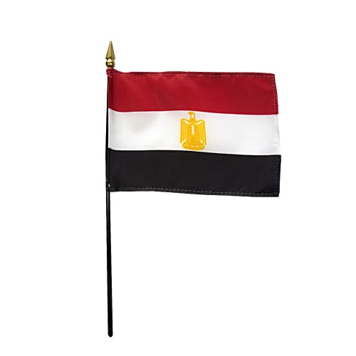 Egypt Miniature Desk Flag, 4 X 6