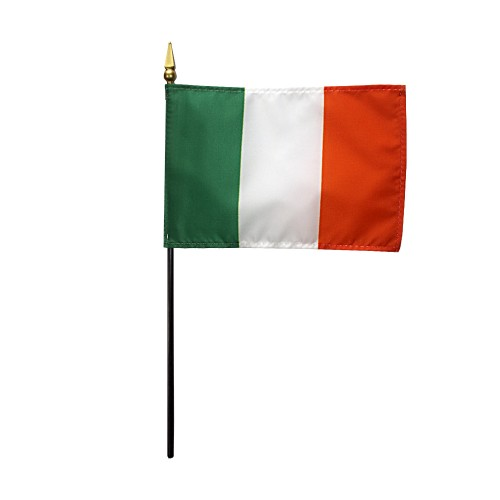 Ireland Miniature Desk Flag, 4 X 6