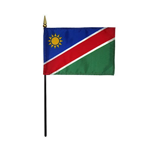 Namibia Miniature Desk Flag, 4 X 6