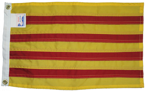 Catalonia (Spain) Nylon Flag, 12 X 18