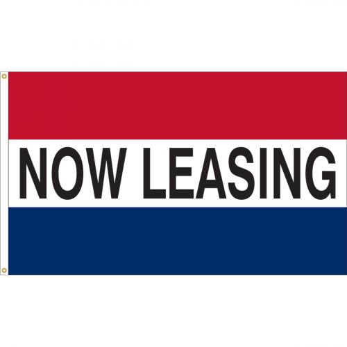 Now Leasing Nylon Message Flag