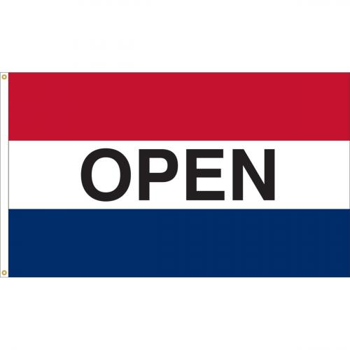 Open Nylon Message Flag