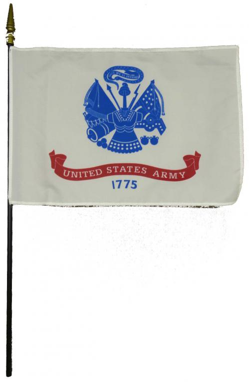 U.S. Army Larger Desk Flag, 8 X 12
