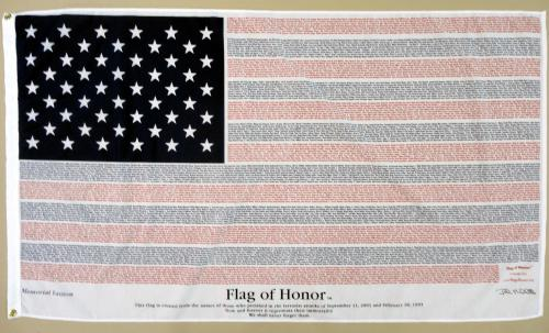 Flag of Honor Memorial Annin