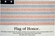 Flag of Honor Memorial Ed Poly/Cotton Flag, 3 X 5