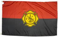 Fire Fighter Fireman Remembrance Nylon Flag, 3 X 5