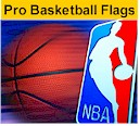 NBA Pro Basketball flags