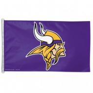 MINNESOTA VIKINGS WINCRAFT NFL POLYESTER FLAG, 3 X 5