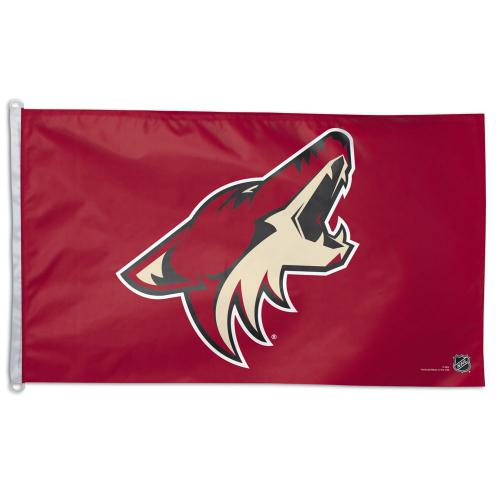 Arizona Coyotes NHL Polyester Flag, 3 X 5