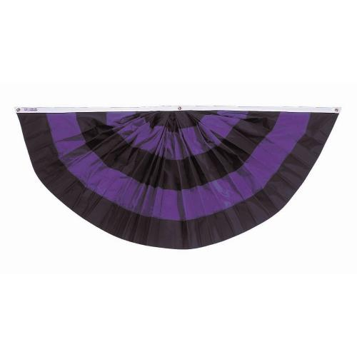 Pleated Mourning Fan