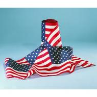United States U.S. Flag Poly/Cotton Bunting, 12 X 25