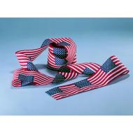 United States U.S. Flag Poly/Cotton Bunting, 4 X 21