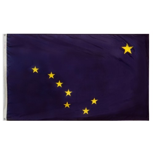 State of Alaska Outdoor Nylon Flag