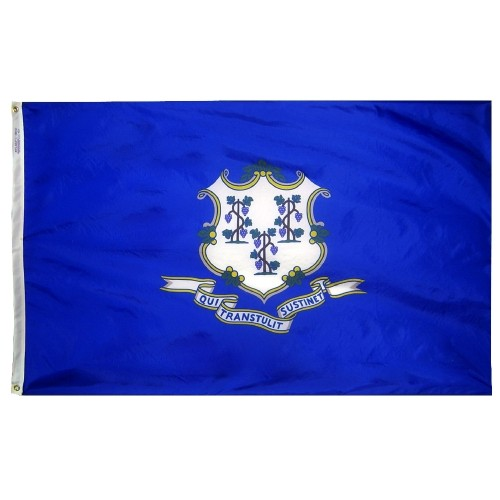 State of Connecticut Outdoor Nylon Flag