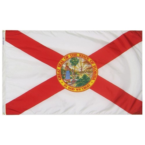 State of Florida Outdoor Nylon Flag