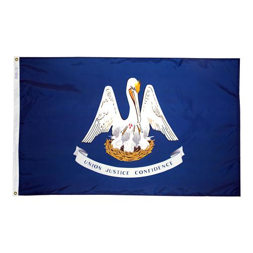 State of Louisiana Outdoor Nylon Flag