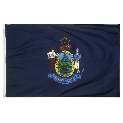 State of Maine Outdoor Nylon Flag