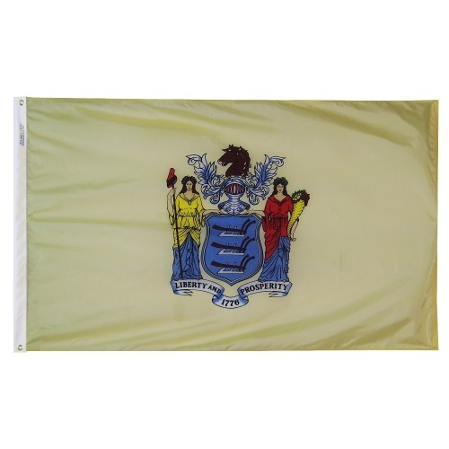 State of New Jersey Outdoor Nylon Flag