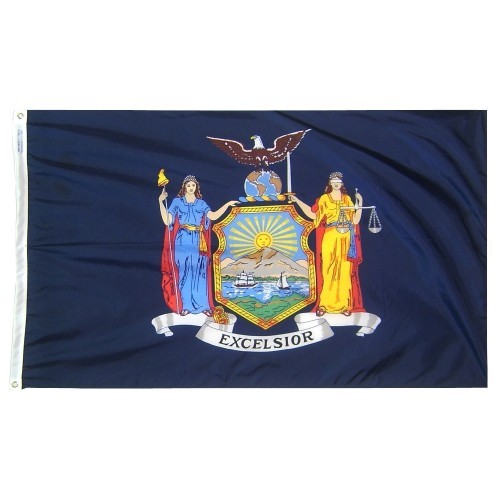 State of New York Outdoor Nylon Flag