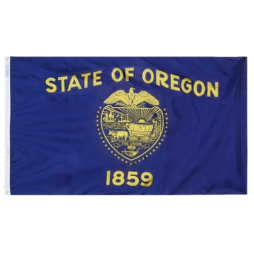 State of Oregon Outdoor Nylon Flag