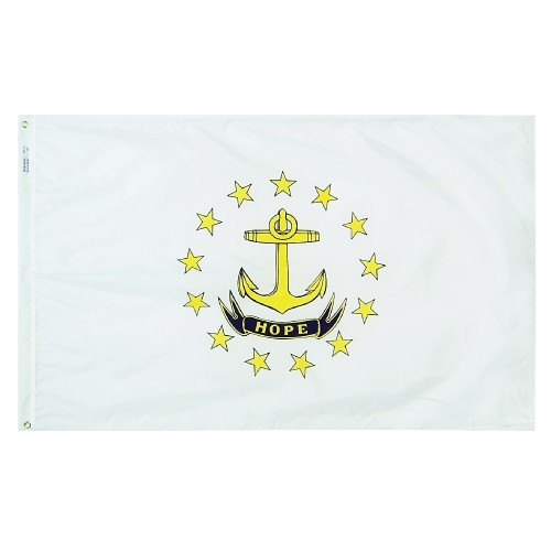 State of Rhode Island Outdoor Nylon Flag