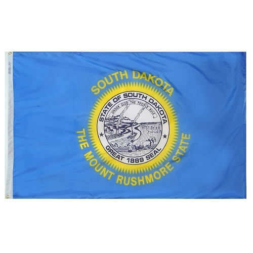 State of South Dakota Outdoor Nylon Flag