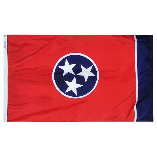 State of Tennessee Outdoor Nylon Flag