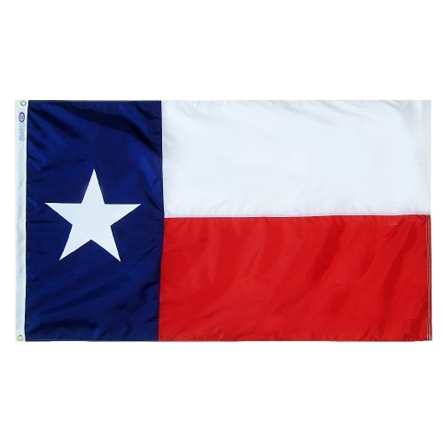 State of Texas Outdoor Flag