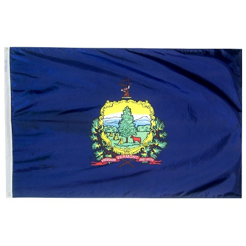 State of Vermont Outdoor Nylon Flag
