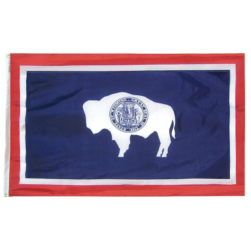 State of Wyoming Outdoor Nylon Flag