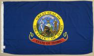 State of Idaho 2-ply Spun Poly Flag, 3 X 5