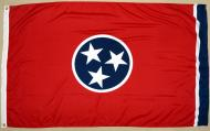 State of Tennessee 2-ply Spun Poly Flag, 3 X 5