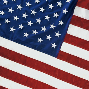 United States Spun Polyester United States Flags For Sale
