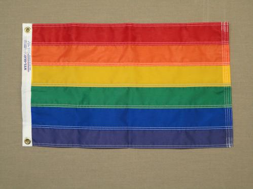 Rainbow LGBT Pride Nylon Flag