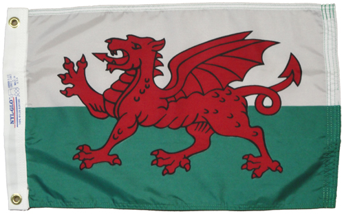 Wales Great Britain International Nylon Flag