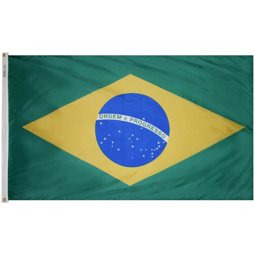 Brazil Outdoor Nylon Flag
