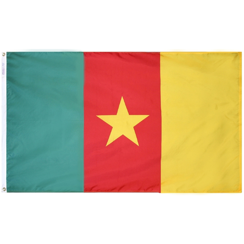 Cameroon Outdoor Nylon flag