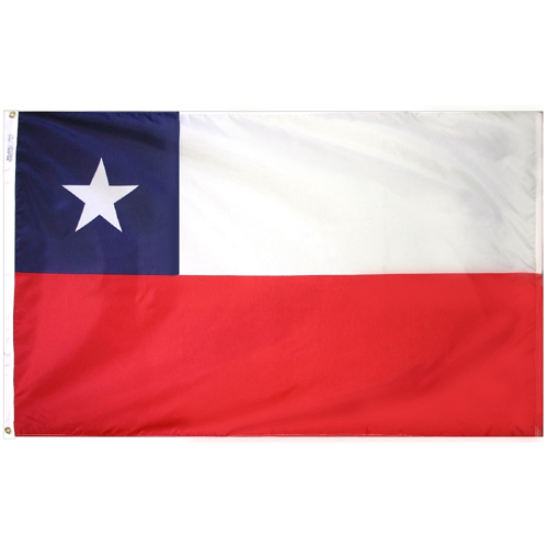 Chile Outdoor Nylon Flag