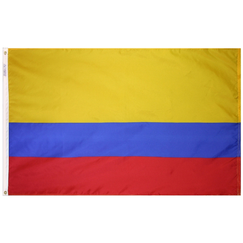 Colombia Outdoor Nylon Flag