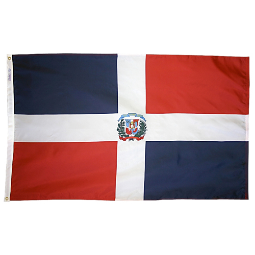 Dominican Republic Outdoor Nylon Flag