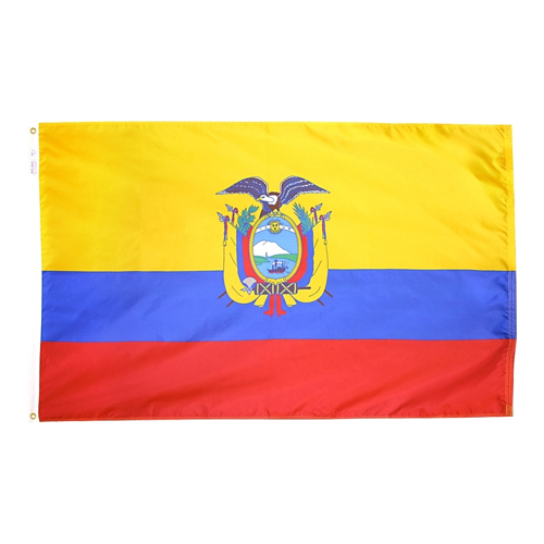 Ecuador Outdoor Nylon Flag
