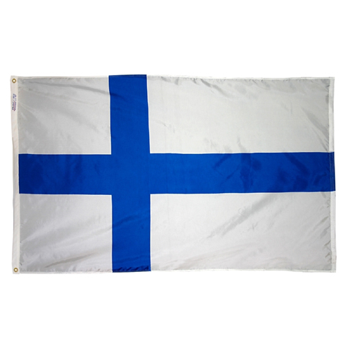 Finland Outdoor Nylon Flag