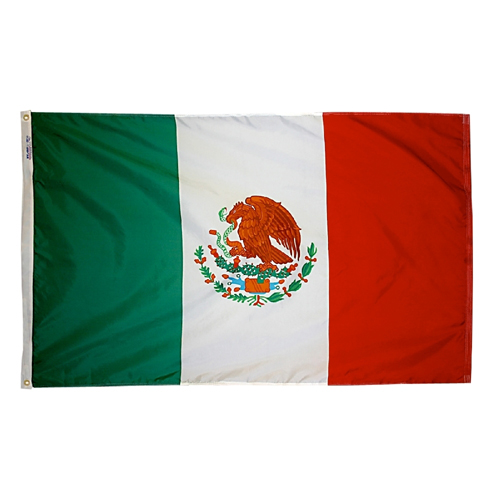 Mexico Outdoor Nylon Flag