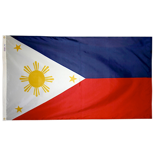 Philippines International Nylon Flag