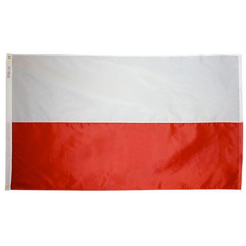 Poland International Nylon Flag