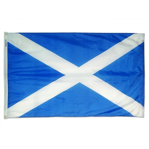 St Andrews Cross Scotland International Nylon Flag