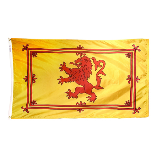 Scottish Rampant Lion Scotland International Nylon Flag